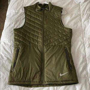 Olive Green Nike Vest